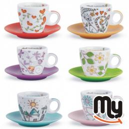 EGAN - Set of 6 Tea for Two...