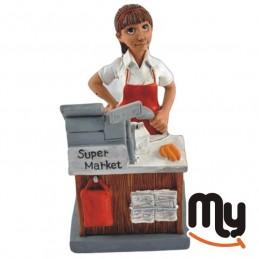Cashier - Figurine,...