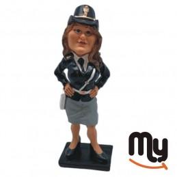 Policewoman - Figurine,...