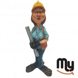 Engineer woman - Figurine,...