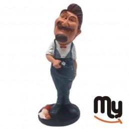 Barber shop - Figurine,...