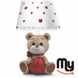 EGAN - Oliver lamp heart 13...