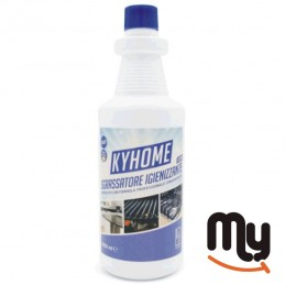 KYHOME - Sgrassatore Cloro / Decarbonizzante / Universale Lt. 1 HAACP - Pulizia Perfetta