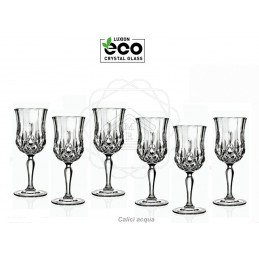 Calici cristallo Luxion eco...