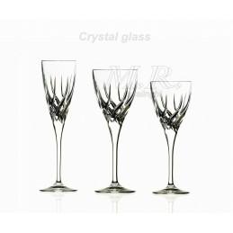Servizio calici cristallo...