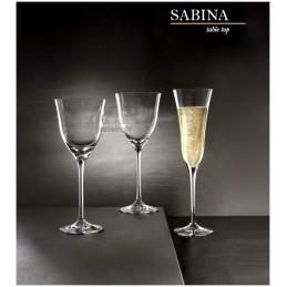 Calici Sabina in cristallo...
