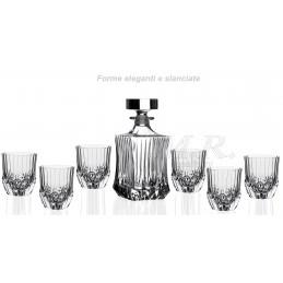 Set whisky 7 pezzi Adagio...