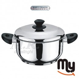 SAUCE WITH LID STAINLESS...