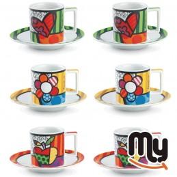 EGAN - Set 6 Kaffeetassen...