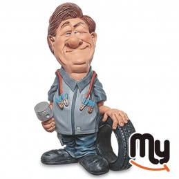 Tire Mechanic - Figurine,...