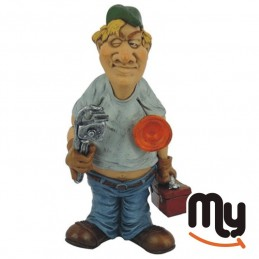 Plumber - Crafts caricature...