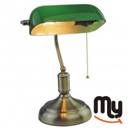 Table lamp - vintage bronze...