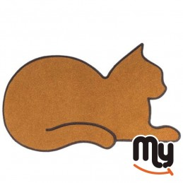 Doormat - Cat in the shape...