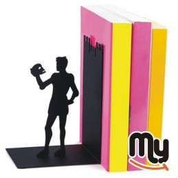 Hamlet bookend in the shape...