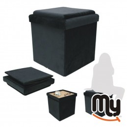 Pouf folding container...
