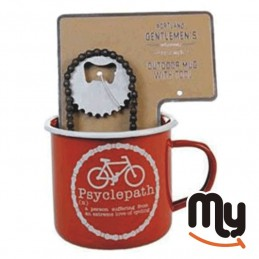 Breakfast Mug - Metal bike...