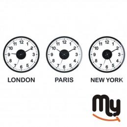 World Clock • Set of 3 Time...