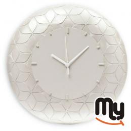 EGAN - Захарен стенен часовник Capitonnè Ø32
