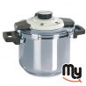 BARAZZONI - Easy Dual System Pressure Cooker 6 Lt.