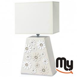 EGAN White Daisy Lamp H.55