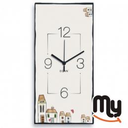 EGAN - Clock - Le Casette 41 x 21 cm.